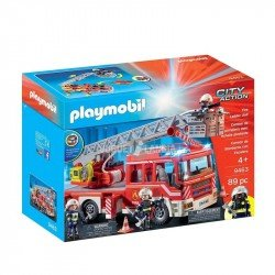 Playmobil 9463 Camión De Bomberos  Con Escalera