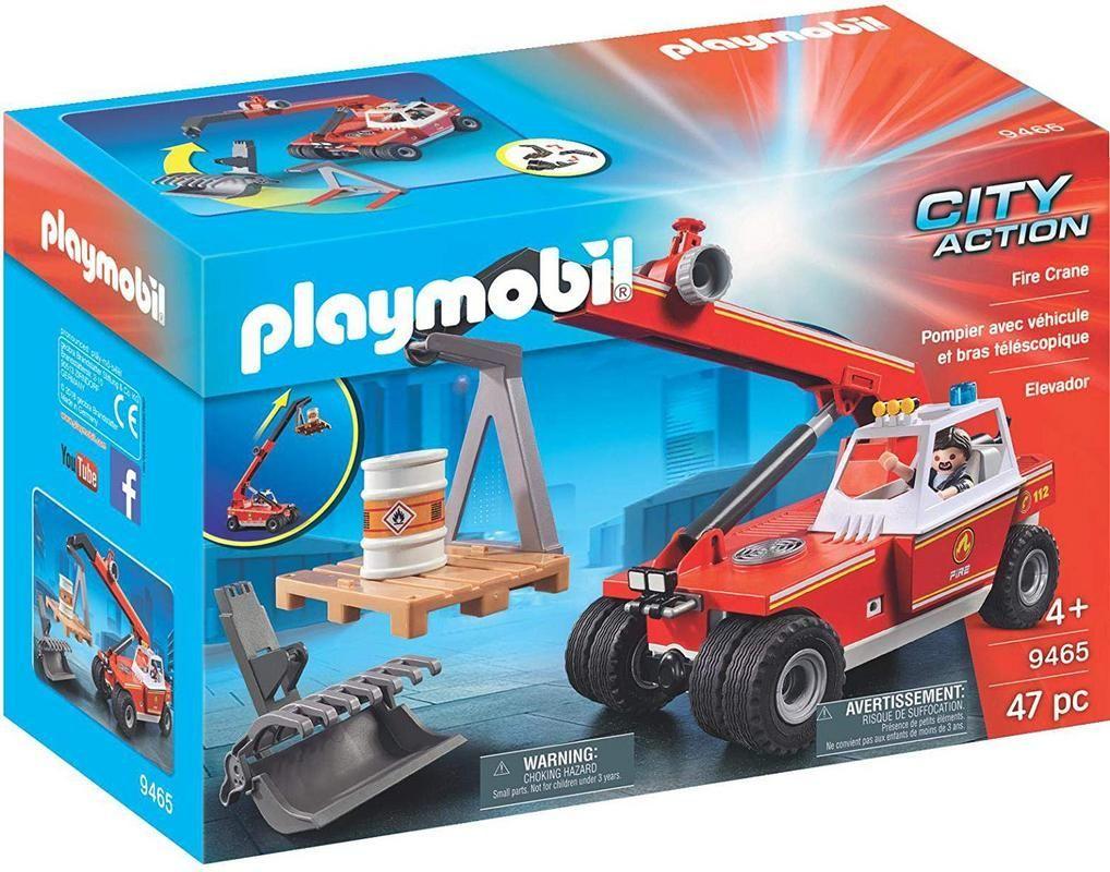 Playmobil 9465 Grúa de Bomberos