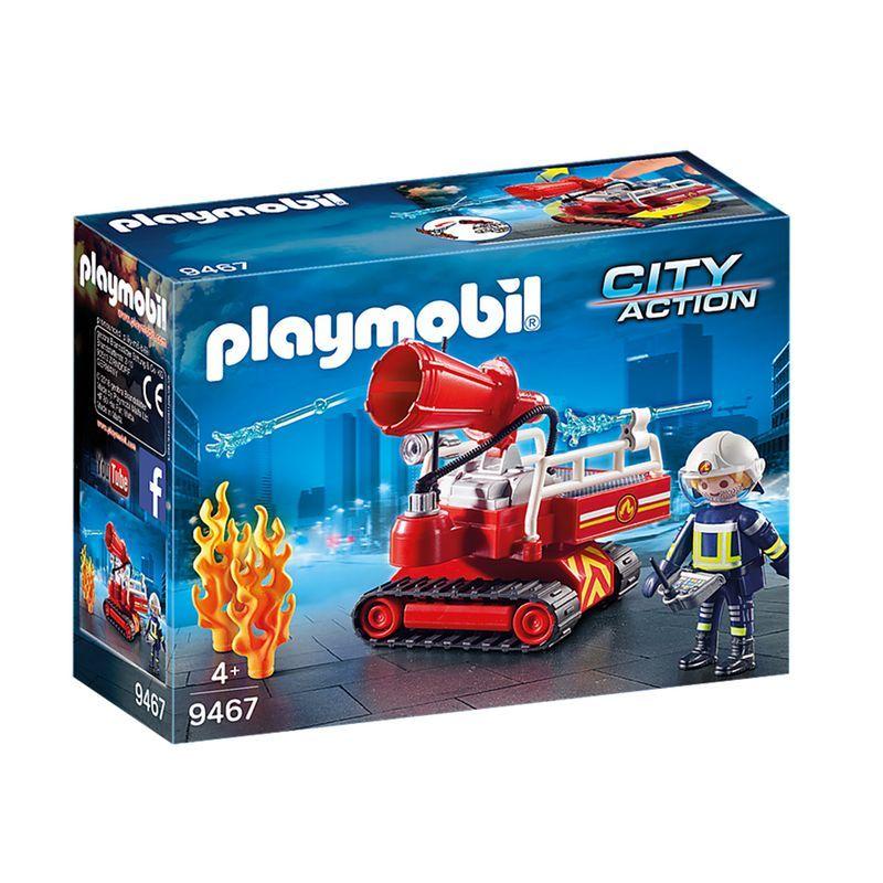 Playmobil 9467 Cañón de extinción
