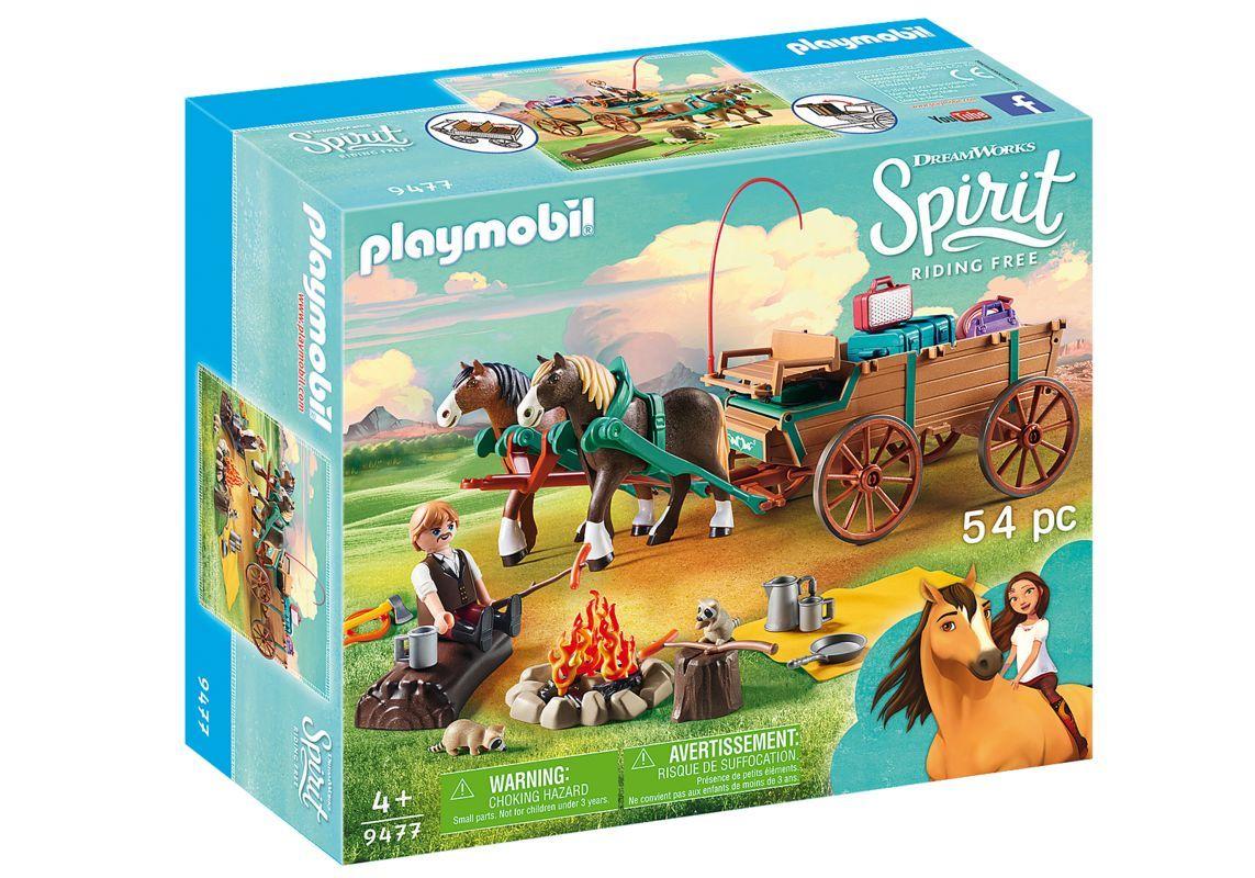 Playmobil 9477 Papá de Lucky y Carruaje