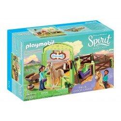 Playmobil 9479 Establo Prudencia y Chica Linda