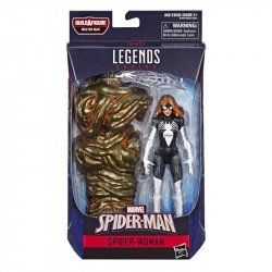 Marvel E3959 Figura 6 Pulgadas Spider-Man Marvel Legends Spider-Woman Juguete Hasbro