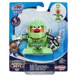 Playskool Sr. Cara de Papa Transformers Rescue Bots Boulder The Construction-Bot