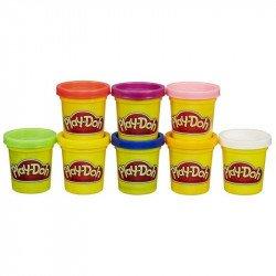 Play-Doh A7923 Set de Inicio: Colores Del Arcoiris 8 Pack