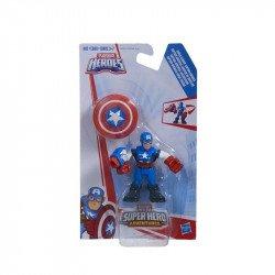 Figura de Entrenamiento Playskool Heroes Capitán América