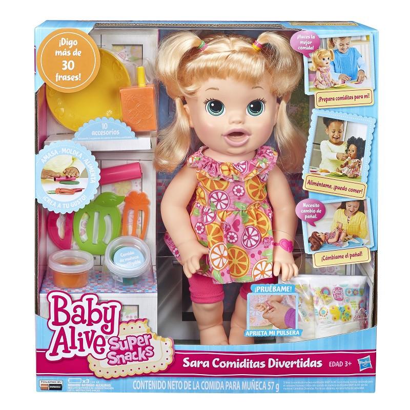 Hasbro Baby Alive Sara Comiditas Divertidas Juguetron