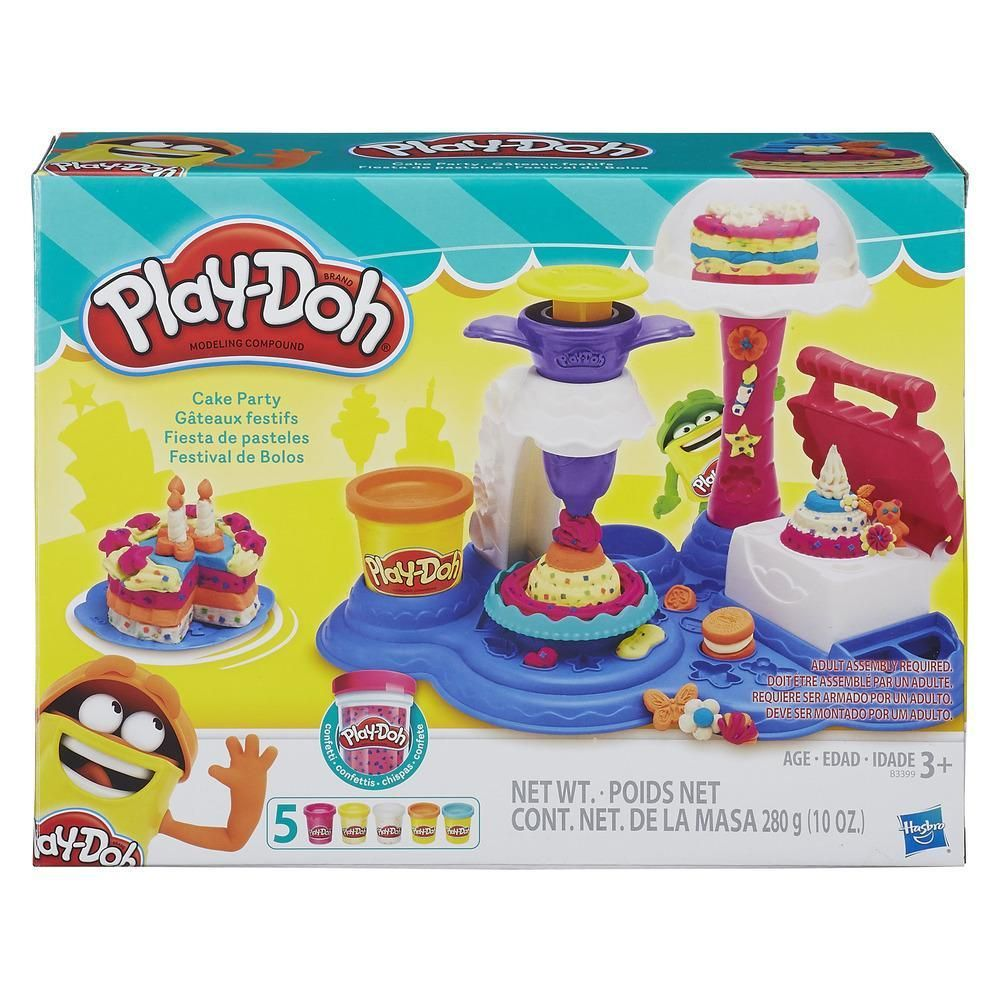 HASBRO  PLAY DOH CAKE PARTY