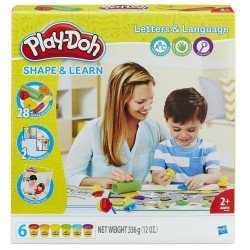 HASBRO PLAY DOH PLAYDOH LETTERS AND LANGUAGE