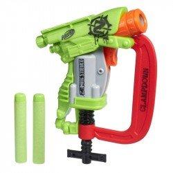 Nerf B4968 Lanzador  Zombie Strike Clampdown  Juguete Hasbro