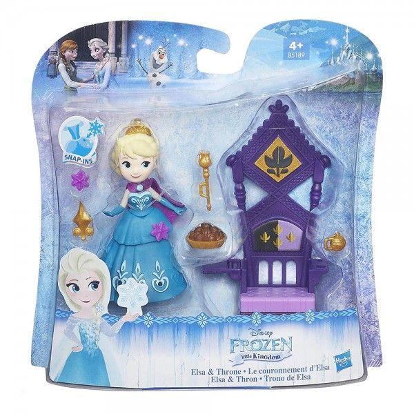Hasbro B5188 Frozen Mini Trono De Elsa