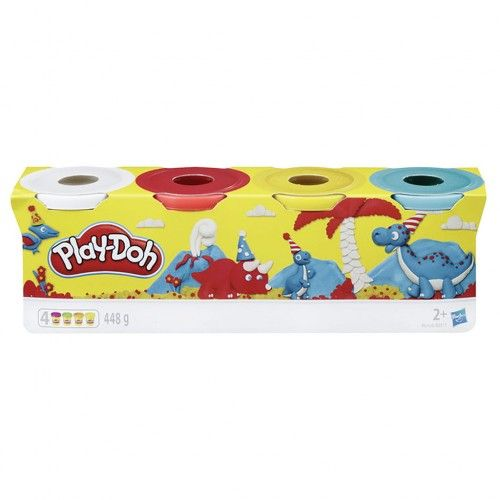 Play-Doh B5517 Classic Color 4 Pack