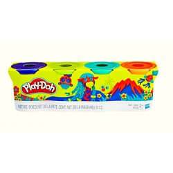 Play-Doh B5517 Classic Color 4 Pack Pack 1