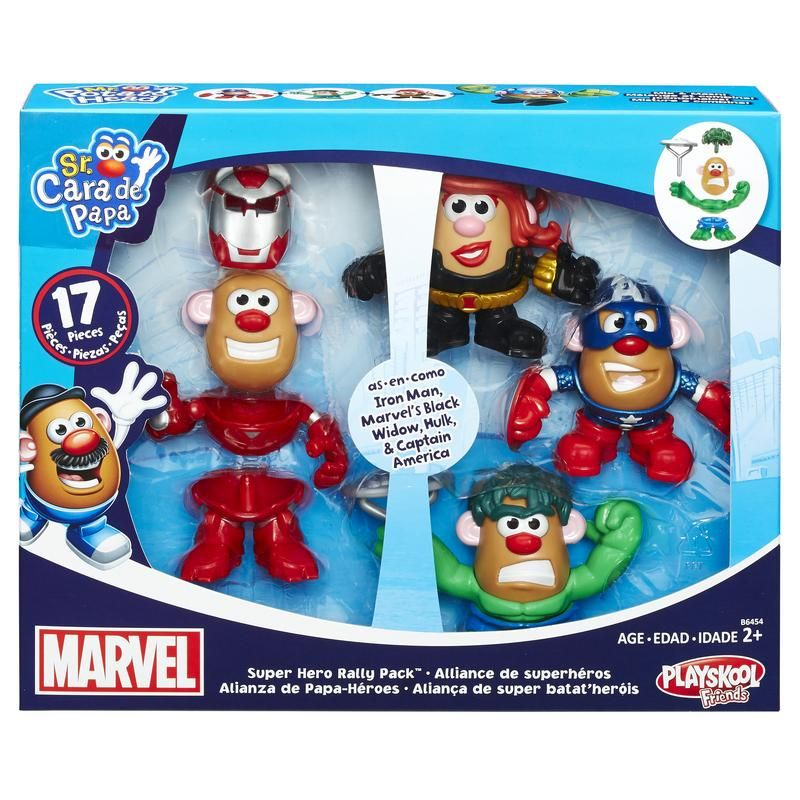 MPH PAPAHEROES COMBINABLES MARVEL 4 PACK HASBRO