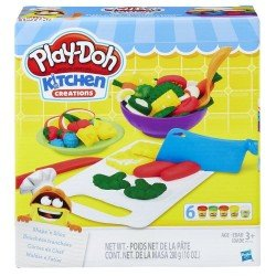 PLAY DOH  CORTES DE CHEF HASBRO