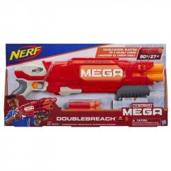 Lanzador Nerf Mega Doublebreach