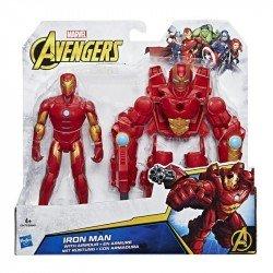 Marvel C0479 Figura Iron Man Con Armadura 6 Pulgadas Avengers