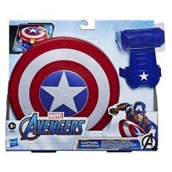 Escudo Magnético y Guantelete Capitán América Marvel
