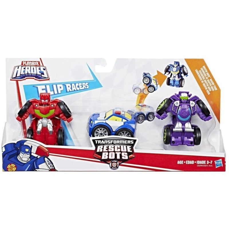 PLAYSKOOL HEROES TRANSFORMERS RECUE BOTS  MULTI PACK