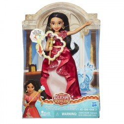 HASBRO DISNEY PRINCESAS EOA ELENA AND POWER SCEPTER FD