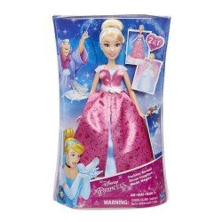 HASBRO DISNEY PRINCESAS FASHION REVEAL CINDERELLA