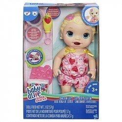 Baby Alive Bebé Hora De Comer, Muñeca Rubia
