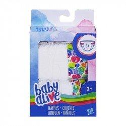 Baby Alive C2723 Paquete con 6 Pañales de Repuesto  Juguete Hasbro