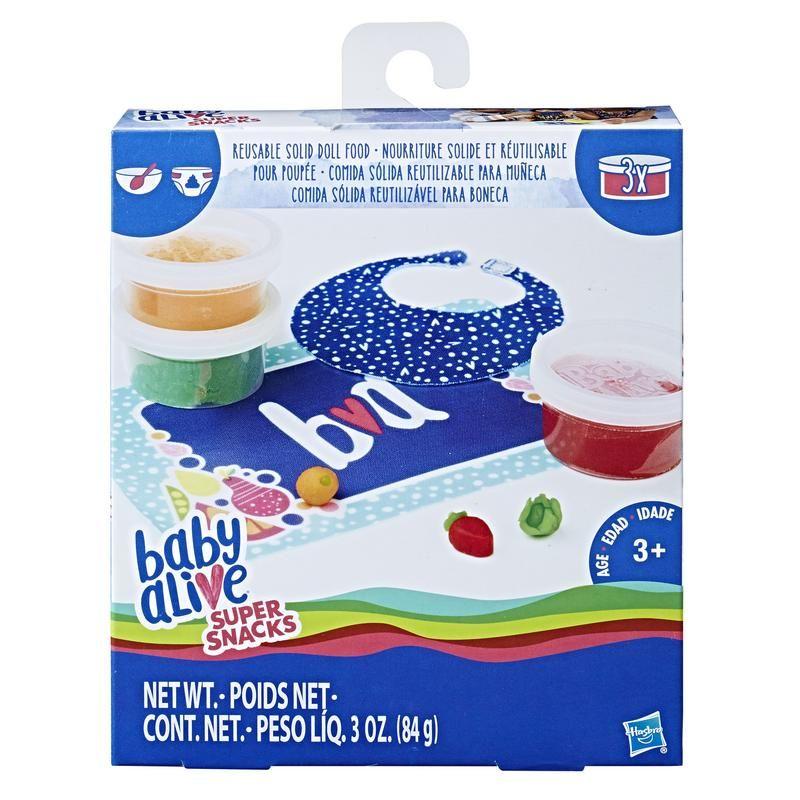 Baby Alive C2727 Comida Sólida Reutilizable  Juguete Hasbro