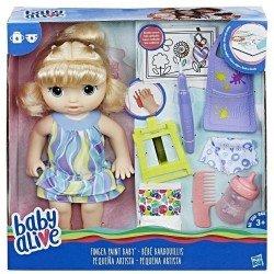 BABY ALIVE PEQUEÑA ARTISTA  HASBRO
