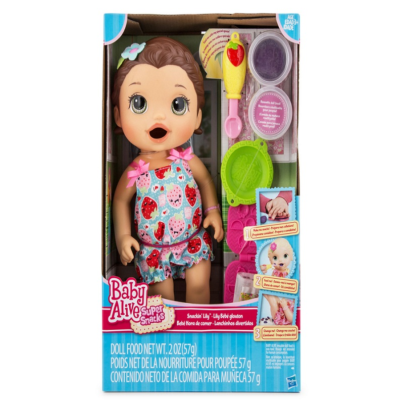 8b6b3851d7 BABY ALIVE SNACKIN LILY