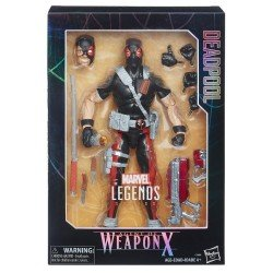 MARVEL LEGENDS 12 LEGENDS DEADPOOL WPN X HASBRO