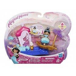 Disney Princess E0072 Movimientos Mágicos Con Vehículo Jazmin