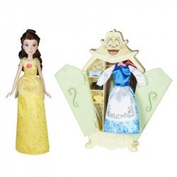 Disney Girls E0075 Disney Princesas Set de Estilo Guardarropa de la Princesa Bella  Juguete Hasbro