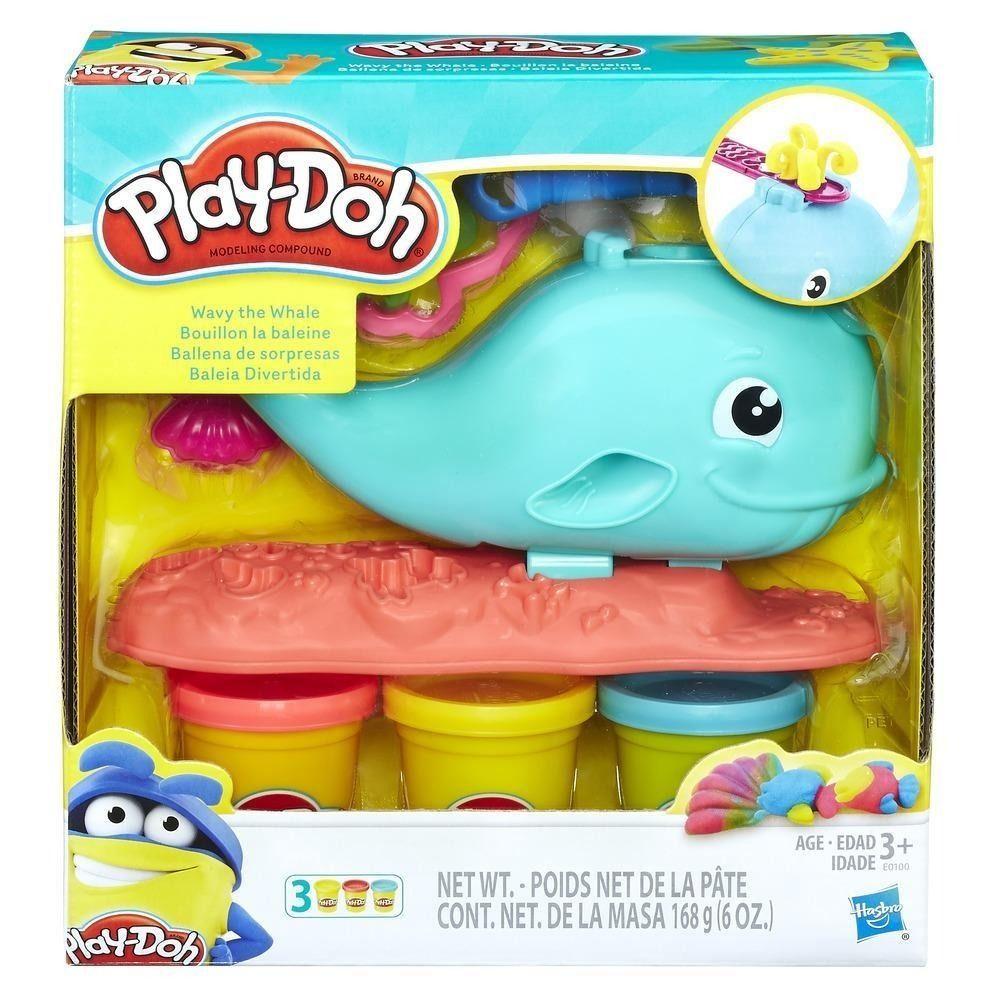 Play-Doh E0100 Ballena de Sorpresas