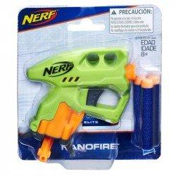 Nerf E0708 Mini Lanzador Nerf Nanofire Verde Juguete Hasbro