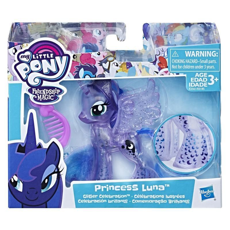 My Little Pony E0185 My Little Pony Princesa Twilight Sparkle Celebración Brillante Juguete Hasbro