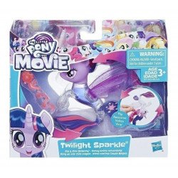 Figura My Little Pony: Pony de mar Cola mágica Twilight Sparkle