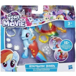 My Little Pony Moda Divertida De Tierra Y Mar Rainbow Dash