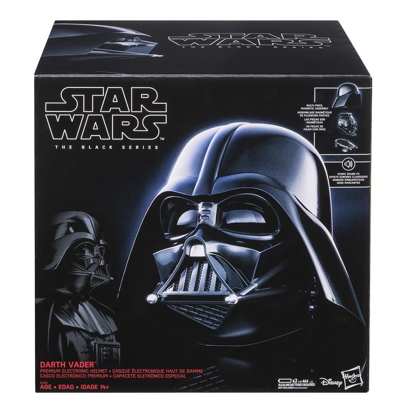 STAR WARS E0328 Star Wars The Black Series Casco Electrónico de Darth Vader Juguete Hasbro