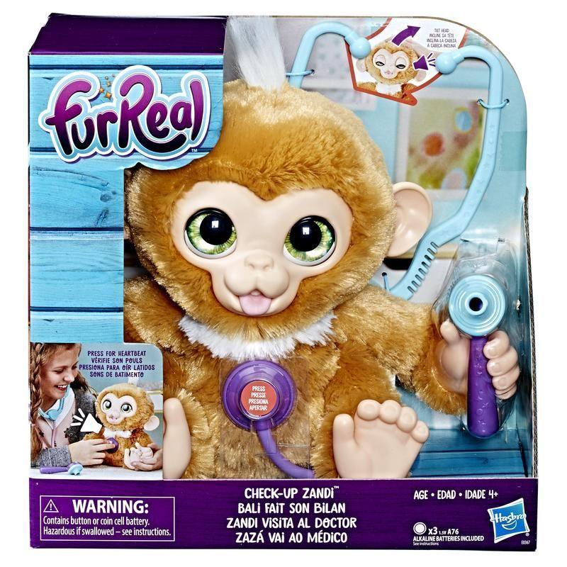 FurReal Friends E0367 Zandi Visita al Doctor