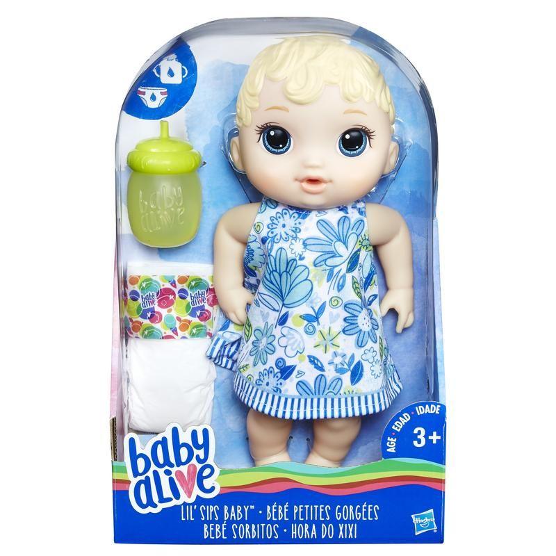 Baby Alive Sorbitos, Muñeca Rubia