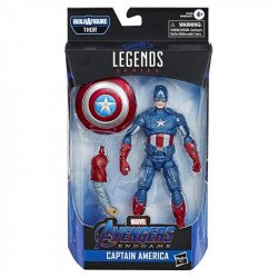 Marvel Legends E7678 Figura 6 Pulgadas Avengers End Game Capitan America