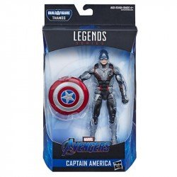 Avengers End Game Figura 6 Pulgadas Captain America