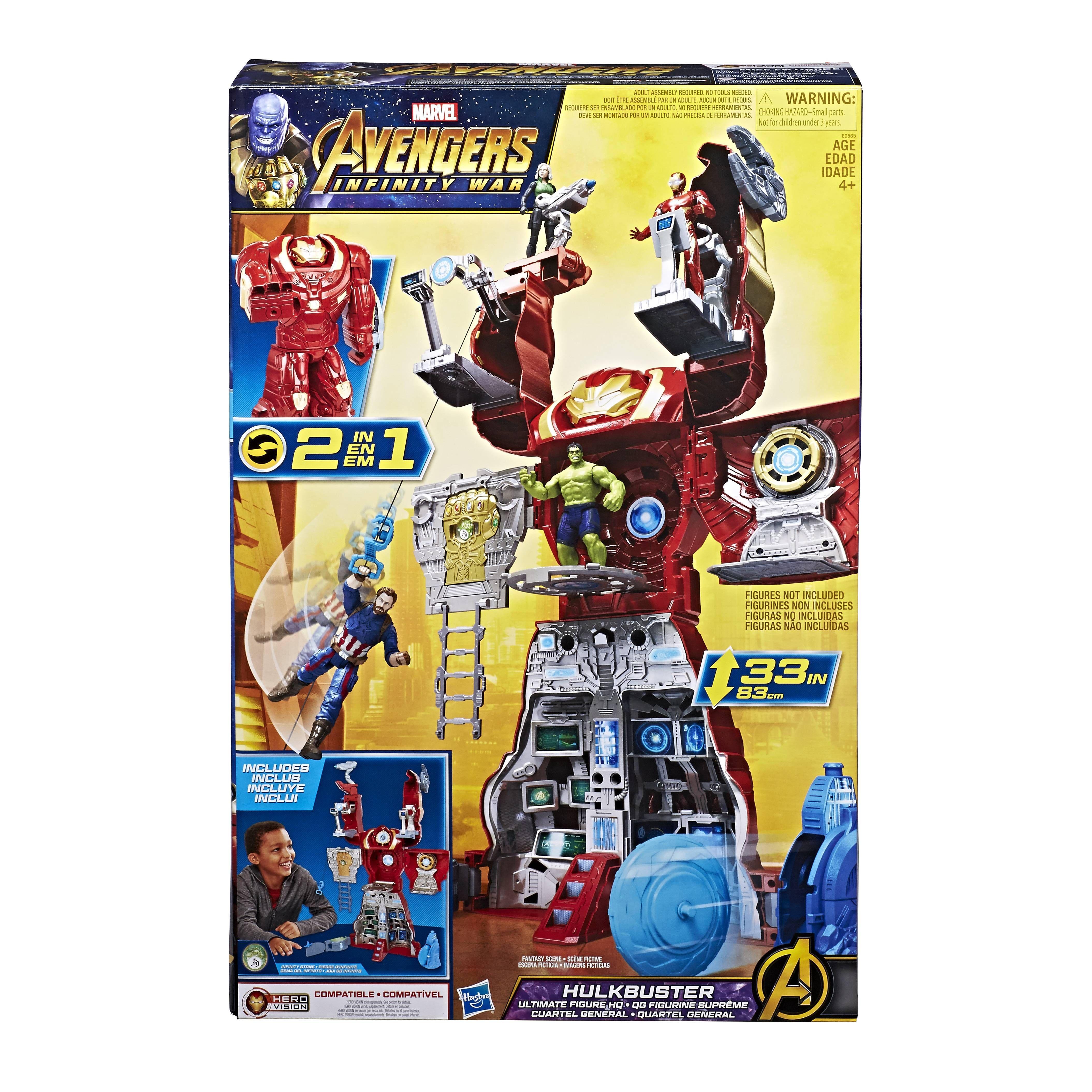 Playset Hulkbuster Avengers Marvel Juguetron