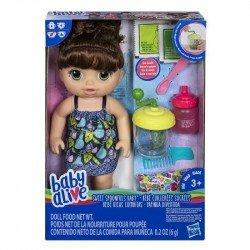 Baby Alive E0587 Bebé Ricas Comiditas , Brunette  Juguete Hasbro