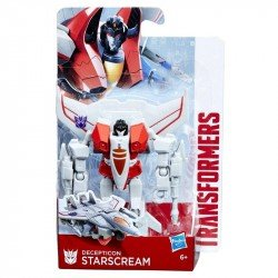 Transformers E1166 Figura Starscream Transformers Authentics Bravo Juguete Hasbro