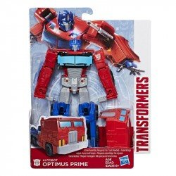 Transformers E0771 Figura Optimus Prime Transformers Authentics Alpha Juguete Hasbro