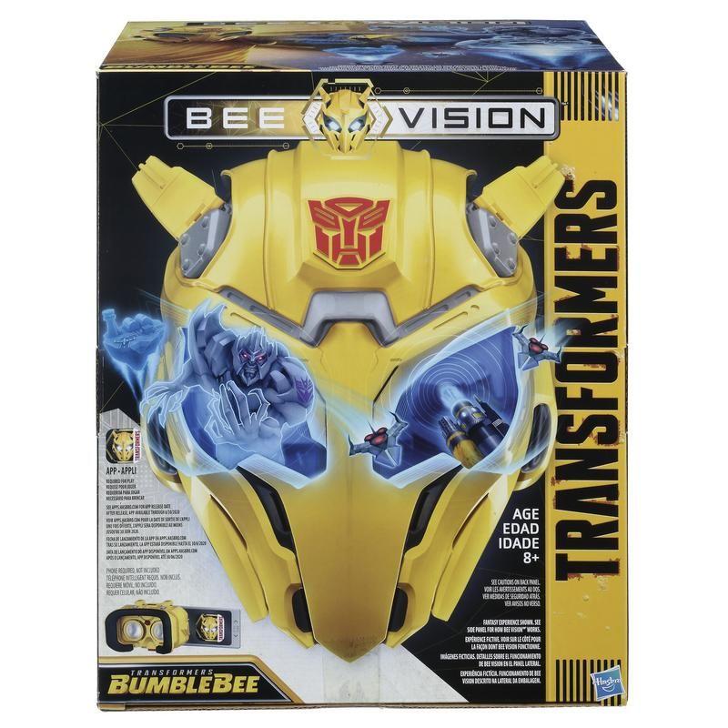 Máscara Experiencia RA Bee Vision Bumblebee Transformers