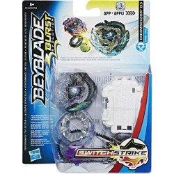 Beyblade Kit de Inicio Burst Turbo SwitchStrike Domscizor D33