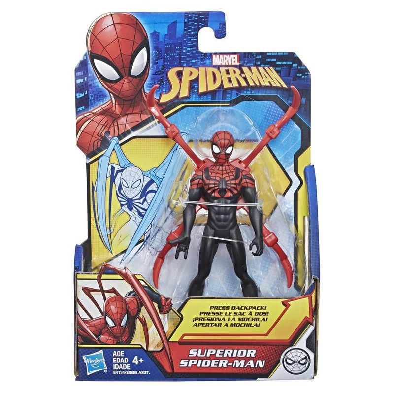 """Figura de Acción Spider-Man 6"""" Hasbro"""