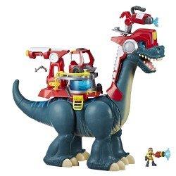 Blazeasaurus y Sparks Mckenzie Chomp Squad Playskool
